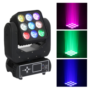 Matrix 3*3 LED Moving Head Light